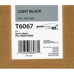 EPSON T 6067 LIGHT BLACK