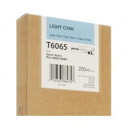 EPSON T 6065 LIGHT CYAN