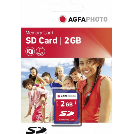 AgfaPhoto SD card 2GB