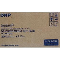 DNP Thermo Papier DS620 10x15 (2x400) / 15x20 (2x200)