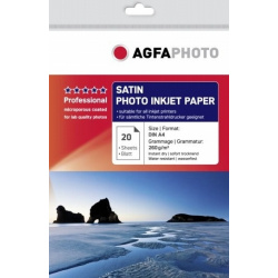 AgfaPhoto Professional Photo Paper 260 g Satin A 4 20 Sheets