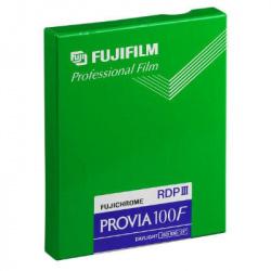 "Fuji Provia 100 F RDP III  4 x 5"" 20  sheets"