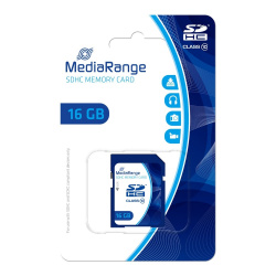 MEDIARANGE SDHC 16GB Class 10