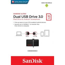 SanDisk Ultra Dual (OTG) USB 3.0 Drive 16GB