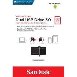 SanDisk Ultra Dual (OTG) USB 3.0 Drive 32GB