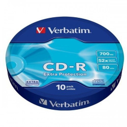 Verbatim CD-R 80 10-PACK wrap