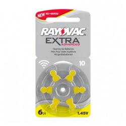 Rayovac Extra Advanced 10 6-pack