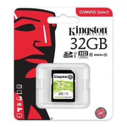 Kingston Canvas Select UHS-I 32GB SDS/32GB